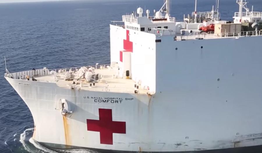 Read more about the article US-Krankenhausschiff USNS Comfort legt in New York an