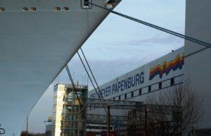 Kreuzfahrtschiff Iona: Arbeiten an Bord pausieren