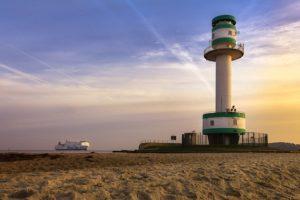 Port of Kiel stellt LED-Fassade der Landstromanlage am Ostseekai vor