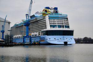 Meyer Werft: Odyssey of the Seas startet zur Probefahrt