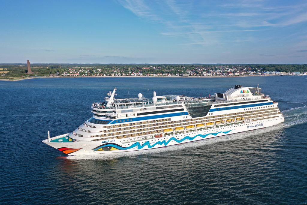 Read more about the article AIDA Cruises setzt mit AIDAluna zweites Kreuzfahrtschiff ab Kiel ein