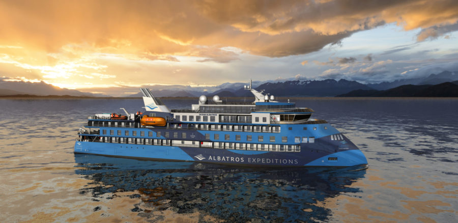 Read more about the article Albatros Expeditions kündigt die Arktis 2023 Saison mit der neuen Ocean Albatros an – das derzeit umweltfreundlichste Expeditionsschiff der Welt