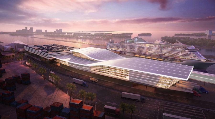 Read more about the article Die Kreuzfahrtsparte der MSC Group und Fincantieri werden Partner für den Bau eines hochmodernen Terminals im PortMiami