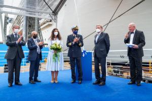 Read more about the article MSC Cruises nimmt auf der Werft von Fincantieri das 19. Schiff seiner Flotte entgegen