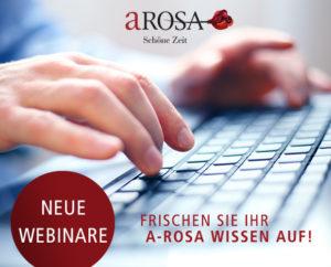 Read more about the article A-ROSA bietet im Herbst eine neue dreiteilige Onlineschulungsreihe an