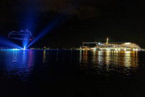 Read more about the article Kieler Woche: Licht- und Feuerwerkshow mit AIDAluna