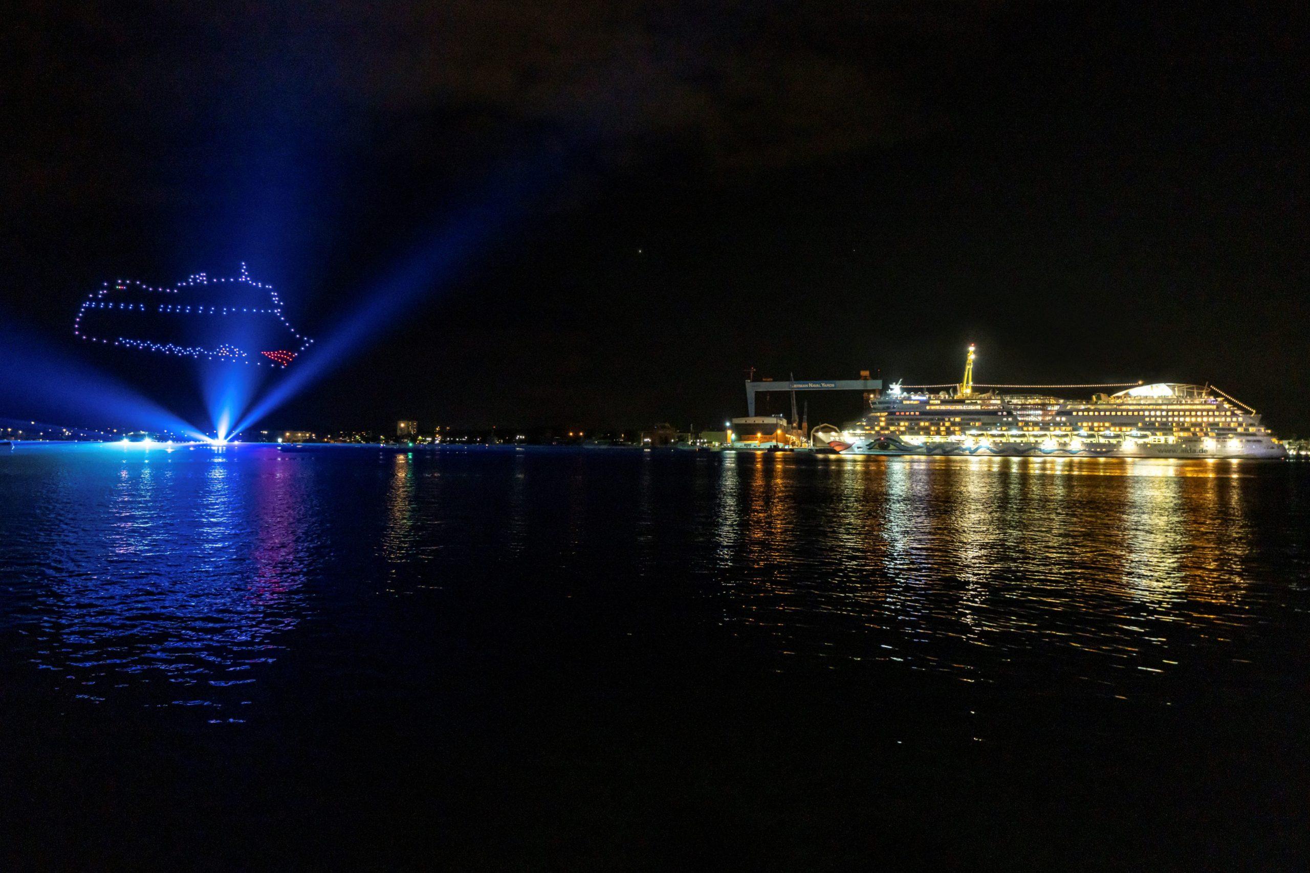 You are currently viewing Kieler Woche: Licht- und Feuerwerkshow mit AIDAluna