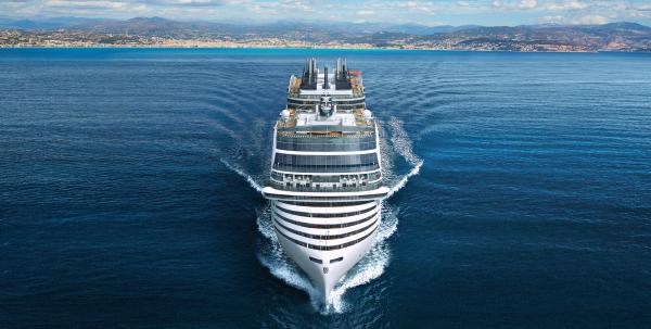 Read more about the article Verpflichtung von MSC Cruises: bis 2050 emissionsfreier Kreuzfahrtbetrieb