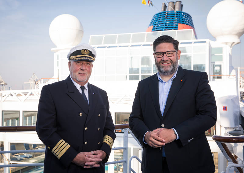 You are currently viewing Hapag-Lloyd Cruises ernennt Andreas Greulich zum Kapitän der Europa