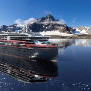 Read more about the article Hurtigruten Expeditions gibt die Taufpatinnen des Hybrid-Expeditionsschiffs MS Fridtjof Nansen bekannt